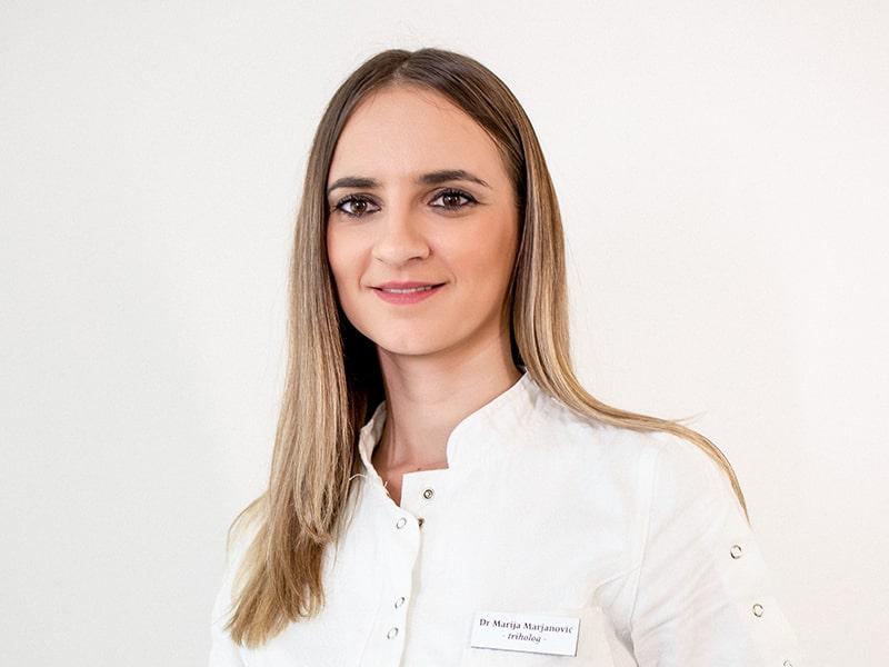 Dr Marija Marjanović 101 Hair Clinic